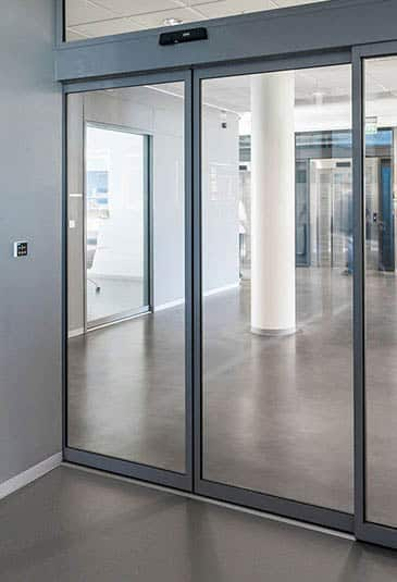 KONE automatic sliding doors are a compact durable and energy efficient solution for wide variety & KONE Automatic Sliding Doors