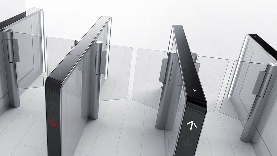 KONE Turnstile 100 fits perfectly modern buildings that require a convenient, secure access control solution with a premium look and feel.